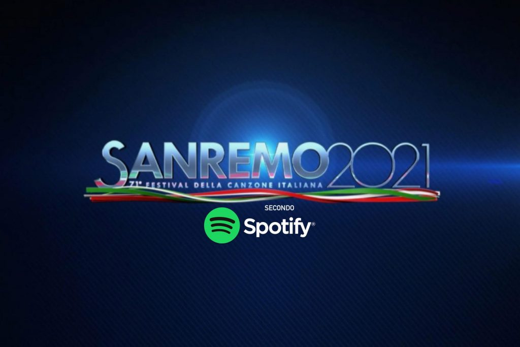 SANREMO 2021 SPOTIFY