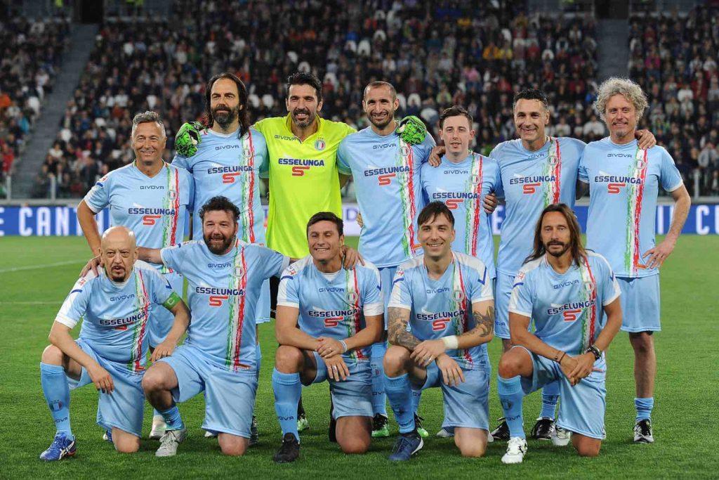 Nazionale Italiana Cantanti La Partita del Cuore